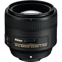 NikonAF-S 85mm f/1.8 G Telephoto Lens
