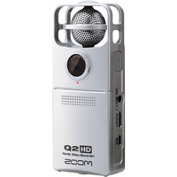 ZoomQ2HD Handy Video Recorder