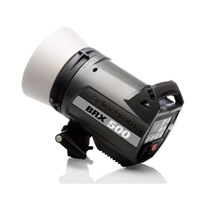 ElinchromBRX 500 Multivoltage Self Contained Flash Head with Built-In Skyport Receiver