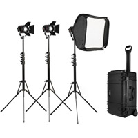 Fiilex3 Light Kit 301 P360 with 3xP360, Softbox, Case, 3 x Stands