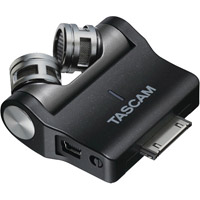 TascamiM2X X-Y Stereo Condenser Mic for iPhone 4/iPod Touch/iPad