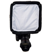 "Illumi 9"" x 9"" (23 cm x 23 cm) Shoot Solo On-Camera Softbox (Fits on Most Camera Speed Lights)"