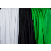 illumi 3 x 6 m Studio Backdrop - Black