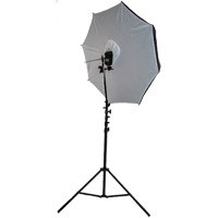 "illumi 40"" Brolly Box - Reflective Umbrella with 7 mm Shaft"