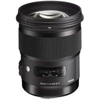 SigmaART 50mm f/1.4 DG HSM Lens for Canon