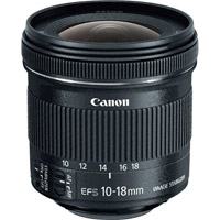 CanonEF-S 10-18mm f/4.5-5.6 IS STM Lens