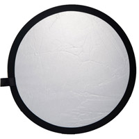 Illumi 80 cm Double Stitched  Reflector - Silver/White