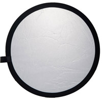 illumi 107 cm Double Stitched Reflector - Silver/White