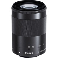 CanonEF-M 55-200mm f/4.5-6.3 IS STM Telephoto Zoom Lens