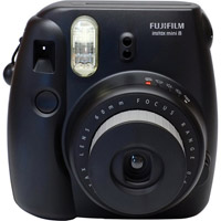 FujiInstax Mini 8 Camera/Film Kit Black