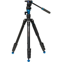 Benro A1883FS2C Aero2 Travel Angel Video Tripod Kit with S2 Video Head and Bag