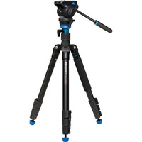 Benro A2883FS4 Aero4 Travel Angel Video Tripod Kit with S4 Video Head and Bag