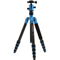 MeFoto RoadTrip Travel Tripod Kit Carbon Fiber - Blue