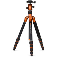 MeFoto RoadTrip Travel Tripod Kit Orange