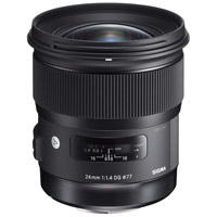 SigmaART 24mm f/1.4 DG HSM Lens for Canon