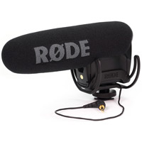 Rode MicrophonesVideoMic PRO Shotgun Condenser Microphone with Rycote Lyre Shock Mounting