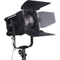 LED GoLG-D1200M LED Fresnel Light 5600K with WiFi/DMX and Case