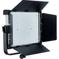 LED Go LG-1200MSII LED Light 5600K with V Mount, WiFi/DMX, DC Adapter, Filter Set and Case