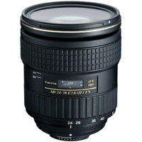 TokinaAF 24-70mm f/2.8 Pro FX SD IF Zoom Lens for Nikon