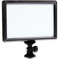 LED Go LG-E116C Soft On Camera LED Light Pad with F770 Battery and Charger