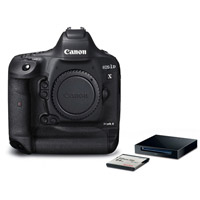 CanonEOS 1DX Mark II Body with Bonus SanDisk CFast 64GB Memory Card and CFast Card Reader