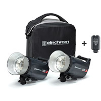 Elinchrom ELC Pro 500/500 To Go Set with Softbag and EL-Skyport Transmitter Plus