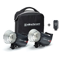 Elinchrom ELC Pro 1000/1000 To Go Set with Softbag and EL-Skyport Transmitter Plus
