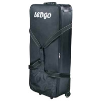 Ledgo Soft Case with Wheels for 600/900/1200 Series Lights (Holds 3 Lights and 3 Stands)