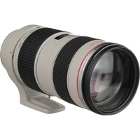 CanonEF 70-200mm f/2.8L USM Telephoto Zoom Lens