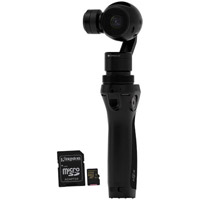 DJIOsmo Handheld Gimbal Bundle With 64GB Micro SD Card