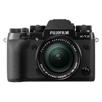 FujiFujifilm X-T2 Mirrorless Body Black