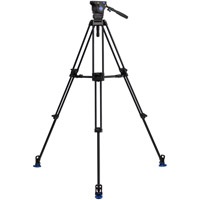 Benro BV6PRO Aluminum Video Tripod Kit - Dual Stage with BV6H Video Head, A673TM Legs and Bag