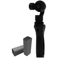 DJIOsmo Handheld 3 Axis Gimbal with 2 Free Batteries