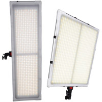 LED Go LG-V58C 2K1 Flexible LED Light with AC Adapter, Control box, 2 x Tiles, 2 x Frame and 2 x Backing