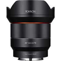 Rokinon14mm F2.8 AF Full Frame Ultra-Wide for Sony E