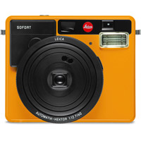 LeicaSofort Orange Camera