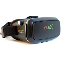 VR KiXVirtual Reality Headset for Smartphones - Black