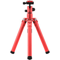 MeFoto Backpacker Air Travel Tripod Kit - Red