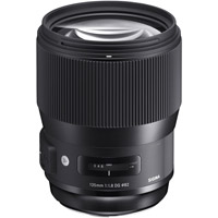 SigmaART 135mm f/1.8 DG HSM Lens for Canon