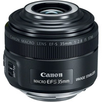 CanonEF-S 35mm f/2.8 Macro IS STM Lens