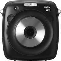 FujiInstax SQUARE SQ10 Hybrid Instant Camera - Black