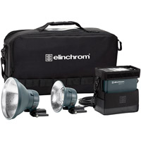 Elinchrom ELB 500 TTL Dual To Go Two Head Set