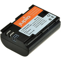 Jupio LP-E6 Lithium-Ion Rechargeable Battery for Canon Cameras - 1700 mAh