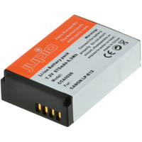 Jupio LP-E12  Lithium-Ion Rechargeable Battery for Canon Cameras - 875 mAh