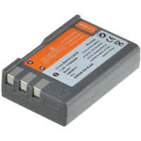 Jupio EN-EL9/EN-EL9A Lithium-Ion Rechargeable Battery for Nikon Cameras - 1100 mAh