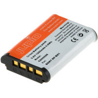 Jupio NP-BX1 Lithium-Ion Rechargeable Battery for Sony Cameras - 1250 mAh