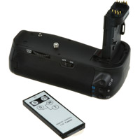 Jupio BG-E13 Batterygrip for Canon EOS 6D with Wireless Remote Control Included