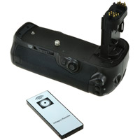Jupio BG-E16 Batterygrip for Canon 7D MKII with Wireless Remote Control Included