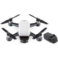 DJISpark Drone Alpine White With Extra Battery
