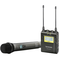 Saramonic UwMic9 STHK - Single TX HH Wireless Mic Kit (1 x HU9 + 1 x RX9) - UHF Wireless Mic System